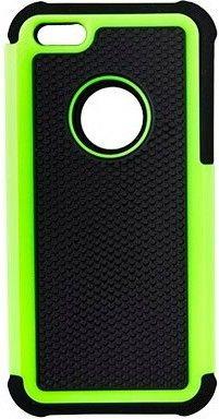 Чехол-книжка Drobak Anti-Shock для Apple Iphone 5c Green - Фото 1