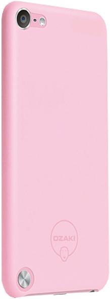 Чехол-накладка Ozaki O!coat 0.4 Solid для iPod touch 5G Pink - Фото 1