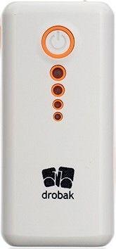 Портативная батарея Drobak Power 5200 mAh/Li-Pol/White - Фото 1