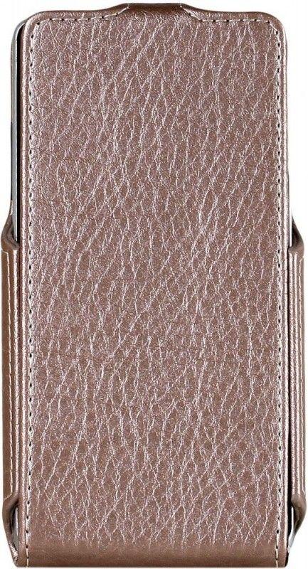 Чехол-флип RedPoint Flip Case для LG Max X155 Bronze - Фото 1