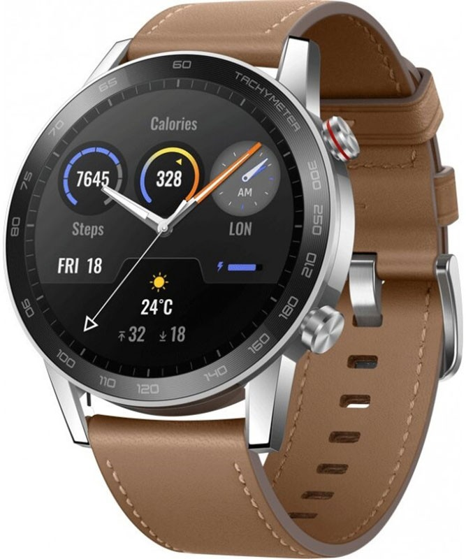 Смарт-часы, Honor Watch Magic 2 46mm Flax Brown  - купить со скидкой