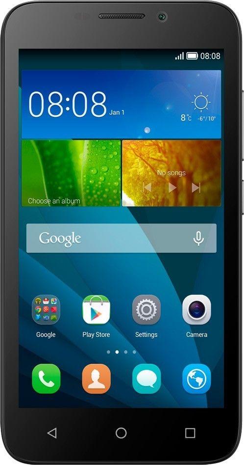 Смартфон Huawei Y5C DualSim Black - Фото 1