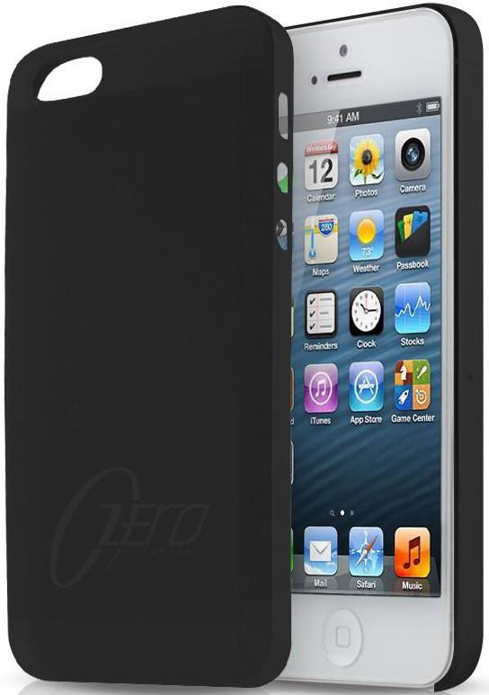 Чехол-накладка itSkins Zero.3 для iPhone 5/5S Black - Фото 1