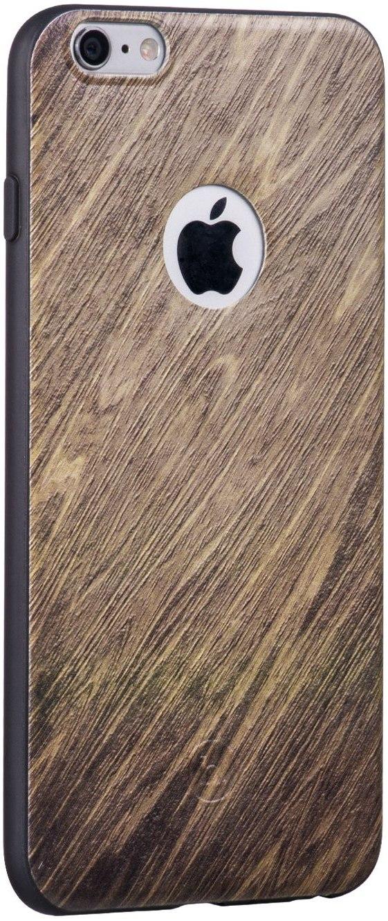 Чехол-накладка HOCO Wood grain Element Series iPhone 6/6s Birch - Фото 1