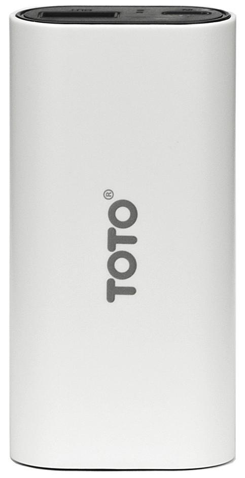 Портативная батарея TOTO TBG-18 Power Bank 5000 mAh 1USB 1A Li-Ion White - Фото 1