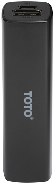 Портативная батарея TOTO TBG-16 Power Bank 2000 mAh 1USB 1A Li-Ion Black