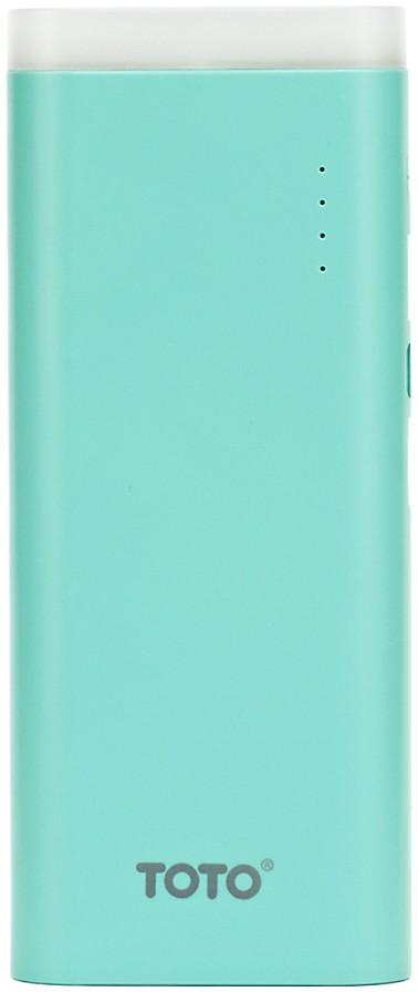 Портативная батарея TOTO TBG-17 Power Bank 12500 mAh 2USB 3,1A Li-Ion Blue - Фото 1