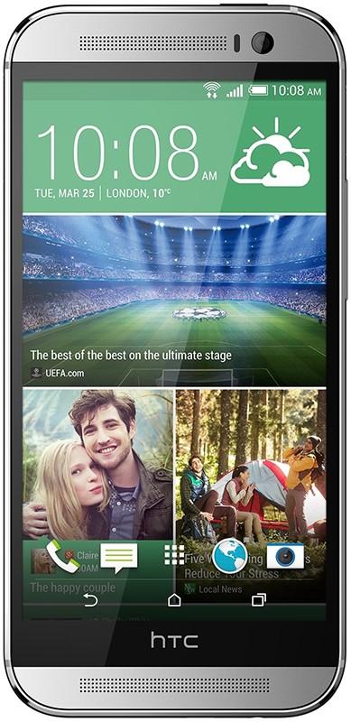 Смартфон HTC One M8 Silver - Фото 1
