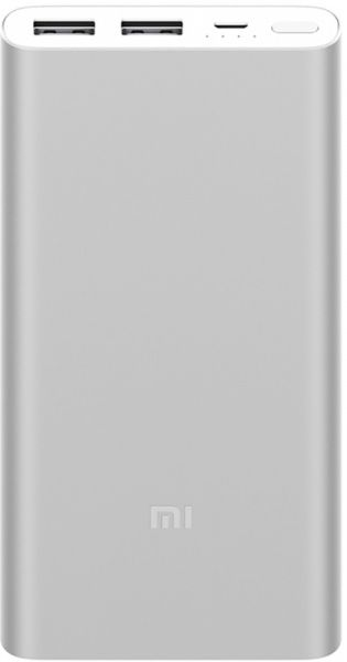 Xiaomi Mi Power Bank 2i 10000mAh Silver - фото
