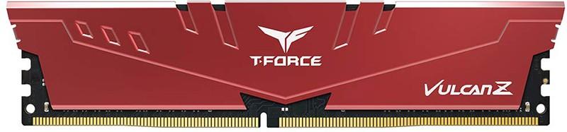 Купить Оперативная память, Team 8 GB DDR4 2666 MHz T-Force Vulcan Z Red (TLZRD48G2666HC18H01)