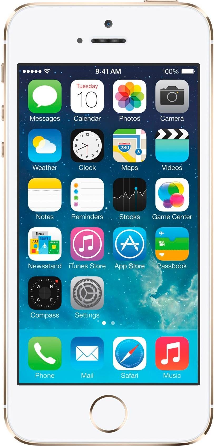 Смартфон Apple iPhone SE 16GB Gold - Фото 1
