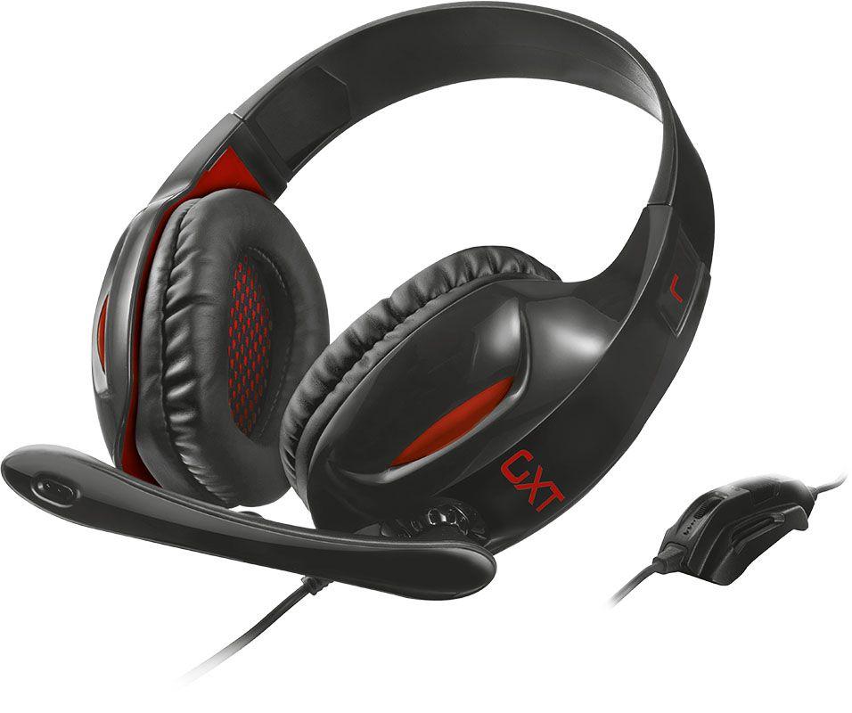 Купить Наушники и гарнитуры, Trust GXT 330 XL Black/Red