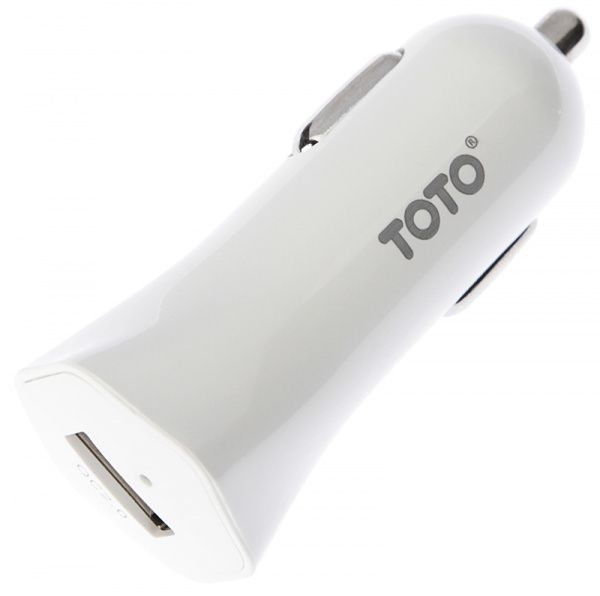 TOTO TZG-03 Car charger 1USB 2,4A White