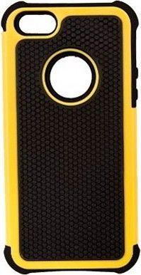 Чехол-книжка Drobak Anti-Shock для Apple Iphone 5 Yellow - Фото 1