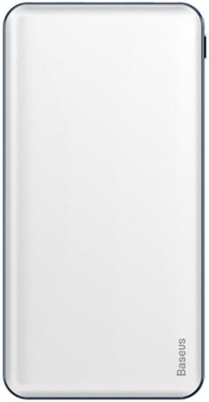 Купить Портативные батареи, Baseus Simbo Fast Charge power bank 10000mAh White