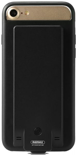 Remax Battery Case 3400mah Apple iPhone 7/8 Black - фото