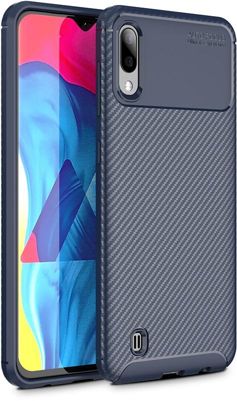 Купить Чехлы для телефонов, TOTO TPU Carbon Fiber 1, 5mm Case Samsung Galaxy M10 Dark Blue