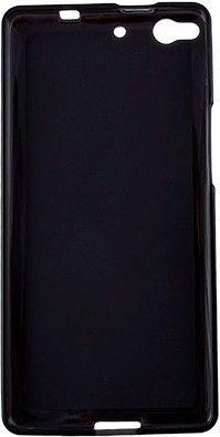Чехол-накладка Drobak Elastic PU для Fly IQ453 Black/Clear - Фото 1