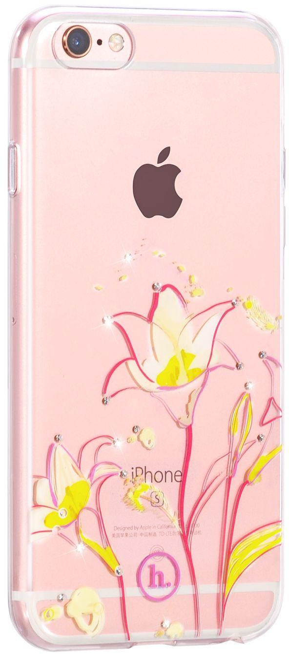 Купить Чехлы для телефонов, HOCO TPU case Super star series Painted iPhone 6/6s Daisy
