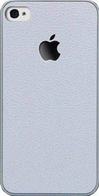 Чехол-накладка SGP Skin Guard Leather Set Package для iPhone 4 White