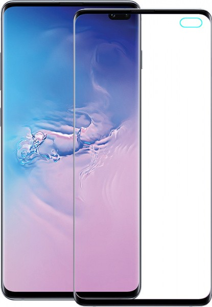 TOTO 5D Full Cover Tempered Glass Samsung Galaxy S10+ Black