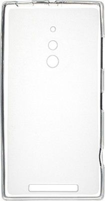 Чехол-накладка Drobak Elastic PU для Nokia Lumia 830 White\Clear - Фото №2