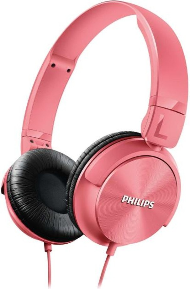 Наушники Philips SHL3060PK/00 Pink - Фото 1