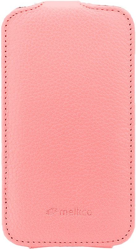 Чехол-флип Melkco Leather Case Jacka для HTC One S Pink - Фото 1