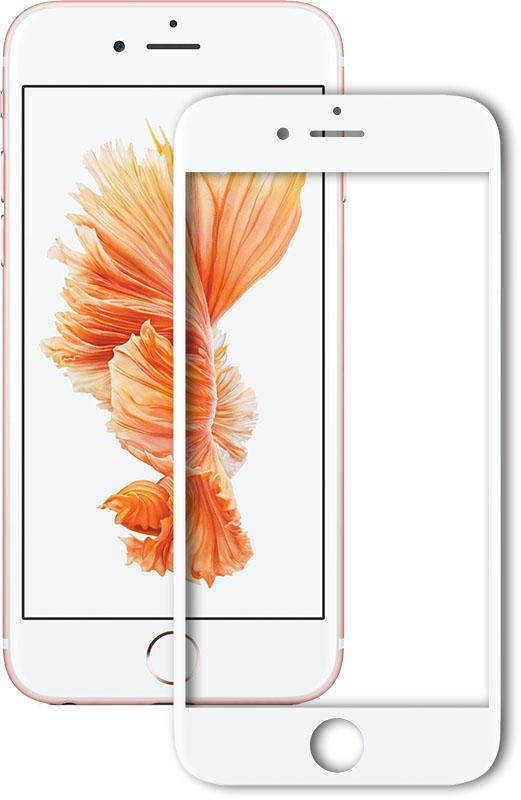 Купить Защитные пленки и стекла, Mocolo 3D Full Cover Tempered Glass iPhone 7 Plus White