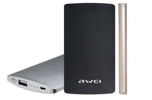 купить портативную батарею AWEI P82K Power Bank 8000mAh Li-Polimer black цены, скидки, распродажи в интернет-магазине fishki.ua