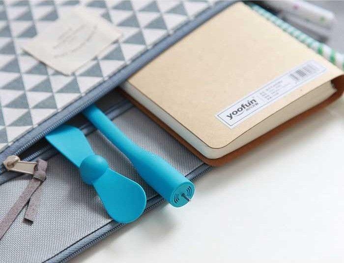 Купить USB-вентилятор Xiaomi Mi portable Fan white; цены, скидки, распродажи в интернет-магазине fishki.ua