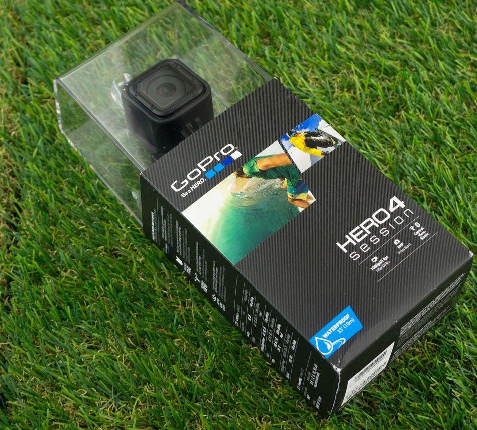 купить экшн-камерy GoPro HERO4 Session STANDART black цены, скидки, распродажи в интернет-магазине fishki.ua