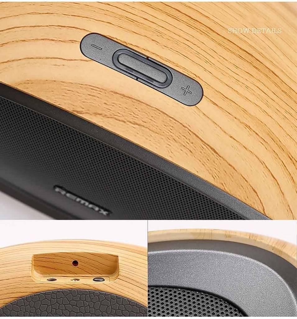 Купить Портативную акустику Remax RB-H7 Portable Speaker Brown; цены, скидки, распродажи в интернет-магазине fishki.ua