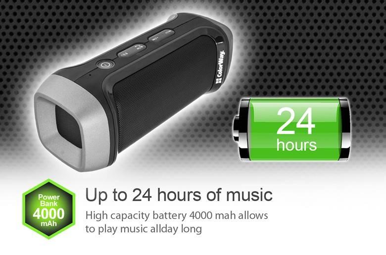 купить портативную акустику ColorWay POWER CHARGE SPEAKER CW-BT28 black цены, скидки, распродажи в интернет-магазине fishki.ua