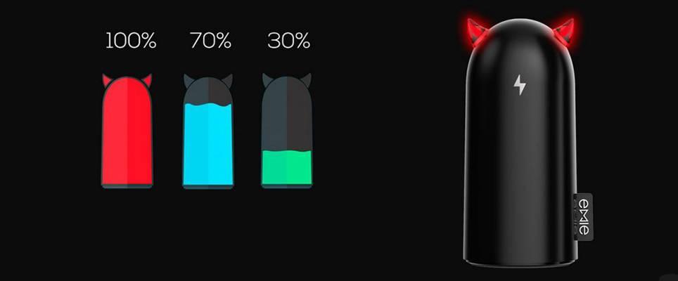 купить портативную батарею EMIE Davil Volt S5200 Power Bank 5200 summer цены, скидки, распродажи в интернет-магазине fishki.ua
