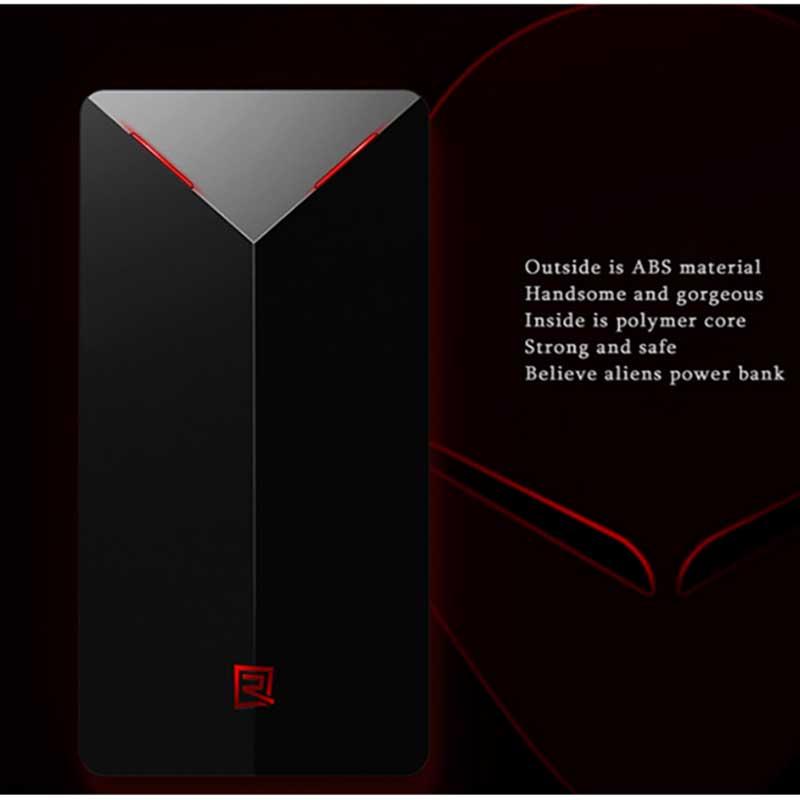 купить портативную батарею Remax Power Bank Alien RPP-20 5000 mAh black цены, скидки, распродажи в интернет-магазине fishki.ua