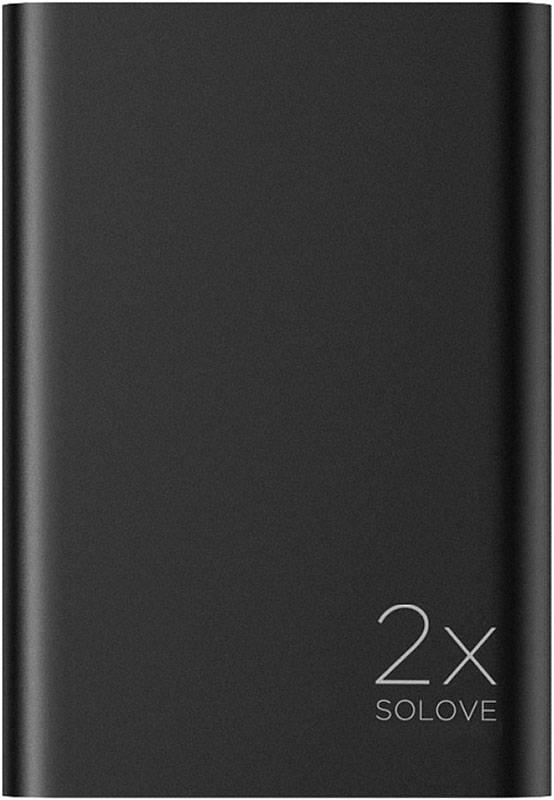 купить портативную батарею Solove A8s Portable Metallic Power Bank 20000mAh black цены, скидки, распродажи в интернет-магазине fishki.ua