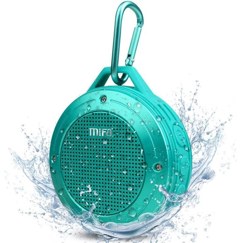 купить портативную акустику Mifa F10 Outdoor Bluetooth speaker blue цены, скидки, распродажи в интернет-магазине fishki.ua