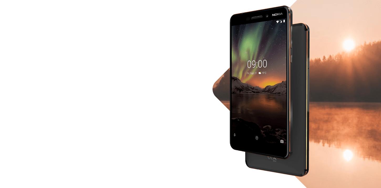 44e117df78b0 Nokia 6 2018 4 32GB Black〛‖ Купить Смартфон Nokia 6 2018 4 32GB ...