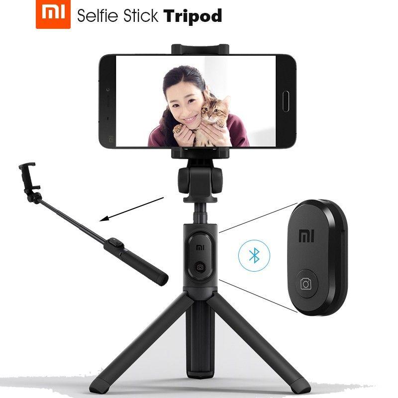купить монопод Xiaomi Mi Selfie Stick Tripod Bluetooth black цены, скидки, распродажи в интернет-магазине fishki.ua