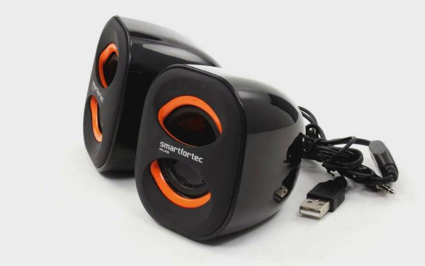 купить портативную акустикy Smartfortec 2.0 K3 black/orange цены, скидки, распродажи в интернет-магазине fishki.ua