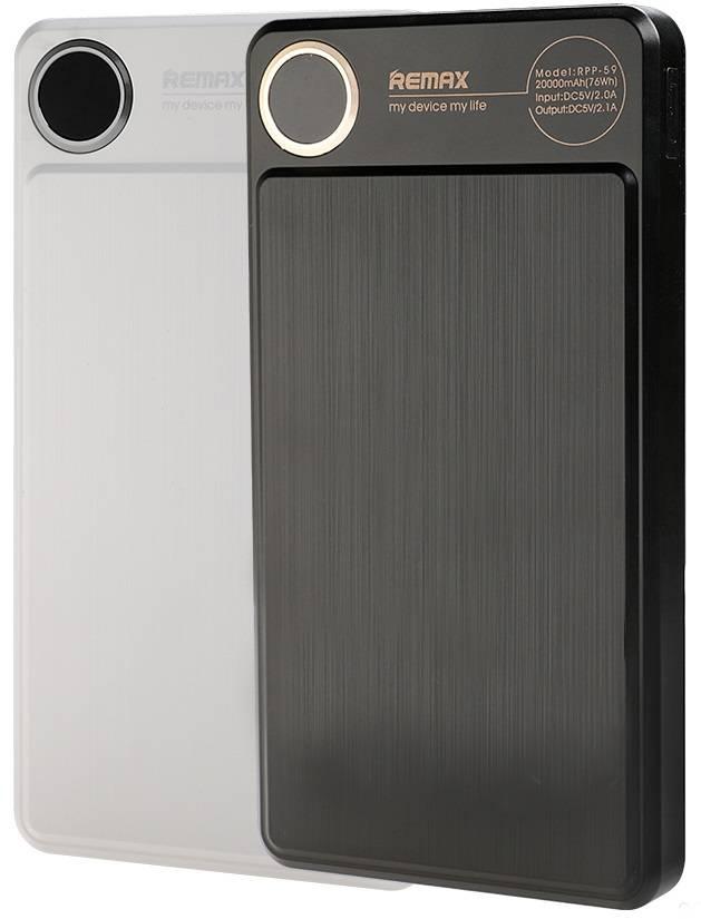 Купити Портативну батарею Remax Power Bank Kooker Series 20000 mah Black ціни, знижки, розпродажі в інтернет-магазині fishki.ua