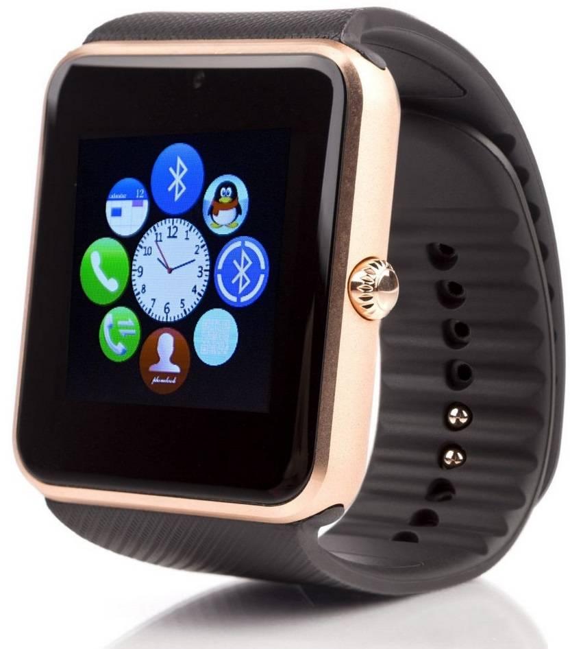Купить Смарт-часы UWatch Smart GT08 Gold/Black цены, скидки, распродажи в интернет-магазине fishki.ua