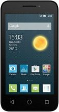 Alcatel One Touch PIXI 3 4013D White Black Front