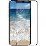 Защитное стекло TOTO 5D Full Cover Tempered Glass iPhone X Black