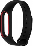 Ремешок UWatch Double Color Replacement Silicone Band For Xiaomi Mi Band 2 Black/Red Line