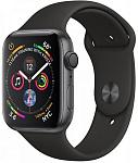 Смарт-часы Apple Watch Series 4 GPS 40mm Space Gray Aluminium Case with Black Sport Band (MU662)