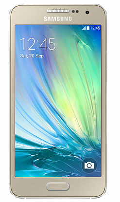 Смартфон Samsung Galaxy A3 A300H/DS Gold - Фото №1