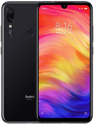Смартфон Xiaomi Redmi Note 7 4/128GB Black (Global) - Фото №1