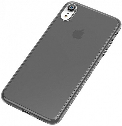 Чехол-накладка Ipaky 360° PC Full Protection PC Case Apple iPhone XR Clear Black фото